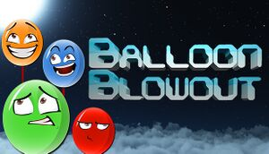 Balloon Blowout cover