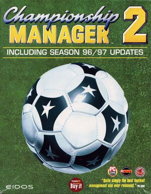 Championship Manager 2: Including 96/97 Updates cover