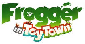 Frogger in Toy Town cover