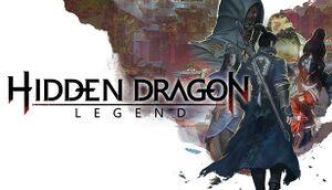Hidden Dragon: Legend cover