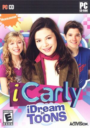 ICarly: iDream in Toons cover