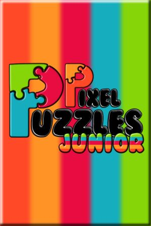 Pixel Puzzles Junior Jigsaw cover