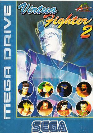 Virtua Fighter 2 cover