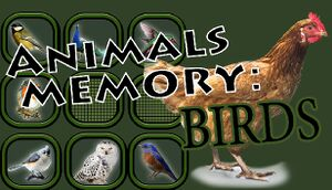 Animals Memory: Birds cover