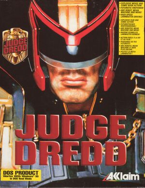 Judge Dredd cover