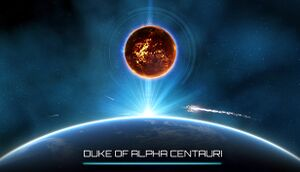 Duke of Alpha Centauri cover