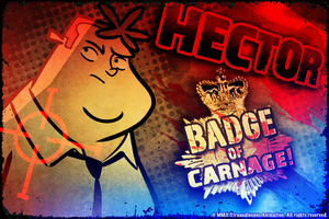 Hector: Badge of Carnage! cover