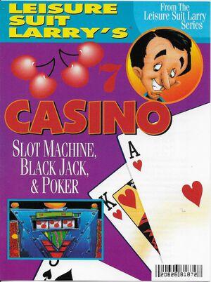 Leisure Suit Larry's Casino cover