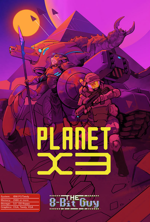 Planet X3 cover