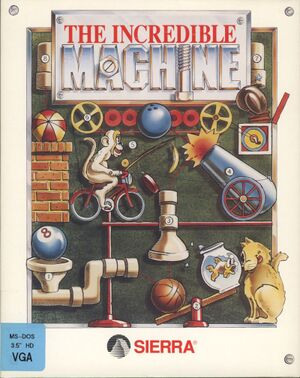 The Incredible Machine cover