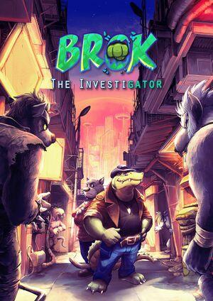 Brok the InvestiGator cover