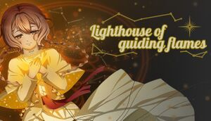 Lighthouse of guiding flames cover