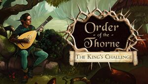 Order of the Thorne: The King's Challenge cover