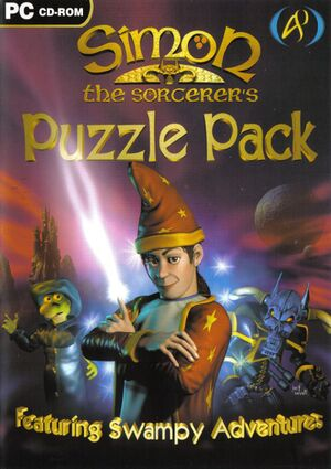 Simon the Sorcerer's Puzzle Pack cover
