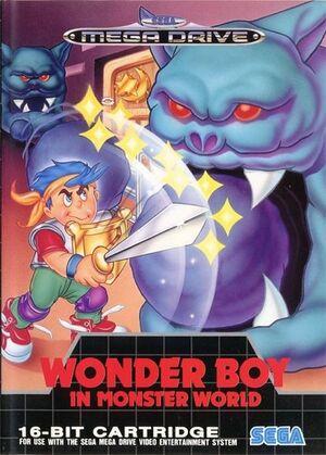 Wonder Boy in Monster World cover