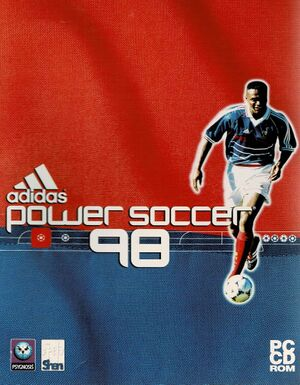 Adidas Power Soccer 98 cover
