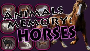 Animals Memory: Horses cover