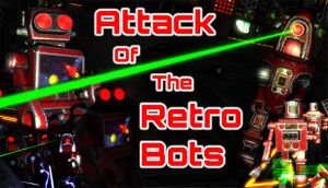 Attack Of The Retro Bots cover