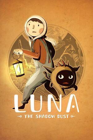 Luna: The Shadow Dust cover
