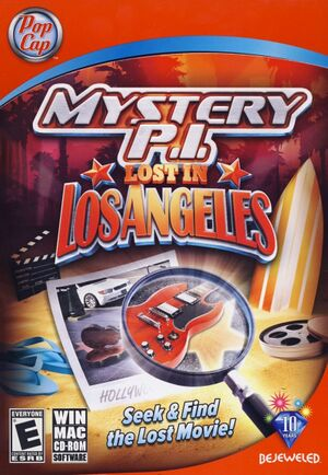 Mystery P.I. - Lost in Los Angeles cover