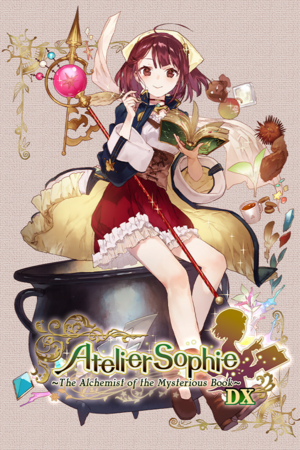 Atelier Sophie: The Alchemist of the Mysterious Book DX cover