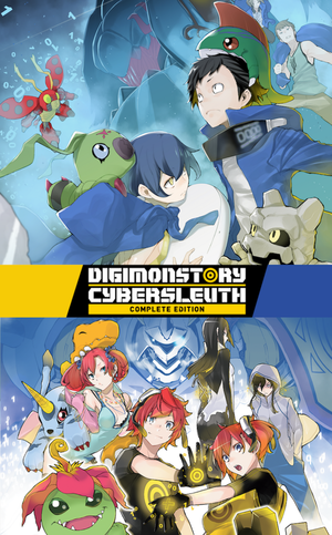 Digimon Story: Cyber SleuthComplete Edition cover