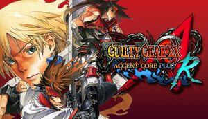Guilty Gear XX Accent Core Plus R cover