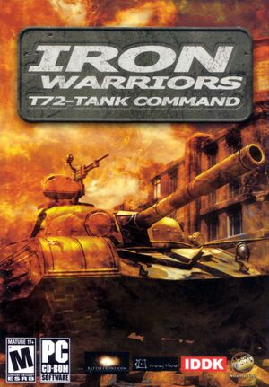 Iron Warriors: T - 72 Tank Command cover