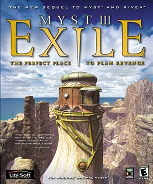 Myst III: Exile cover