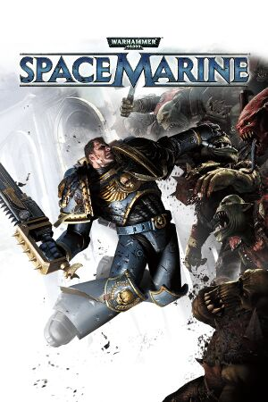Warhammer 40,000: Space Marine cover
