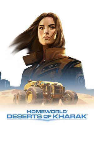 Homeworld: Deserts of Kharak cover