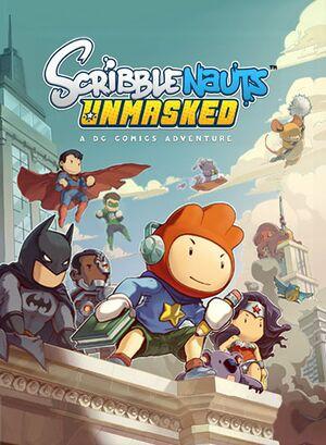 Scribblenauts Unmasked: A DC Comics Adventure cover