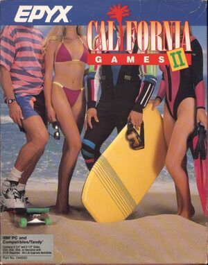 California Games II cover