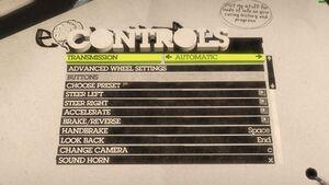 Controls (Keyboard) 1/2