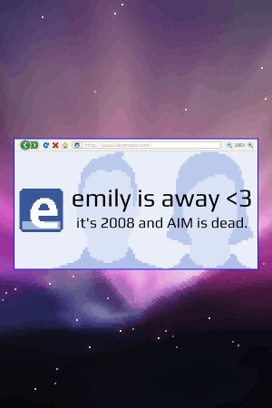 Emily is Away <3 cover