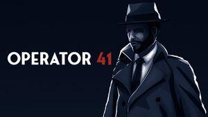 Operator 41 cover