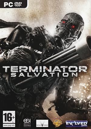 Terminator: Salvation cover