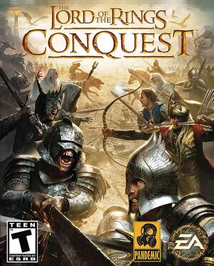 The Lord of the Rings: Conquest cover