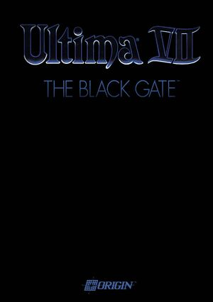 Ultima VII: The Black Gate cover