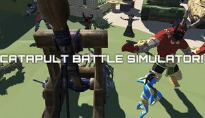 CATAPULT BATTLE SIMULATOR! cover