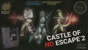Castle of no Escape 2 cover
