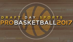 Draft Day Sports: Pro Basketball 2017 cover