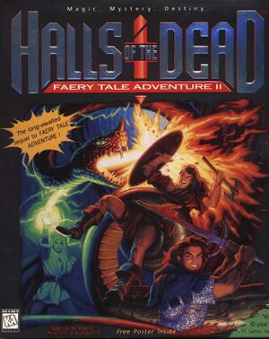 Halls of the Dead: Faery Tale Adventure II cover