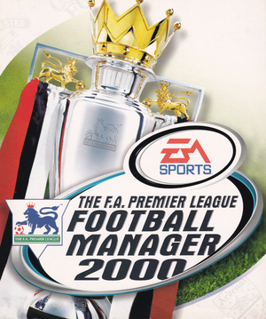 The F.A. Premier League Football Manager 2000 cover