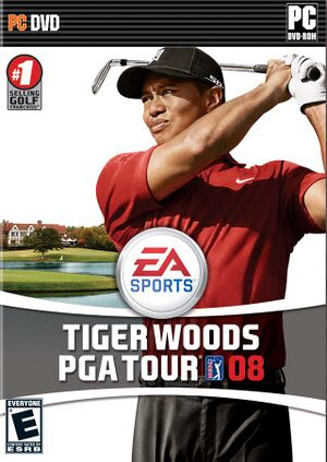 Tiger Woods PGA Tour 08 cover