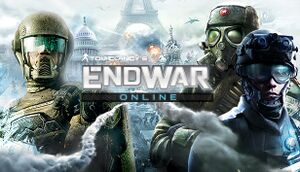 Tom Clancy's EndWar Online cover