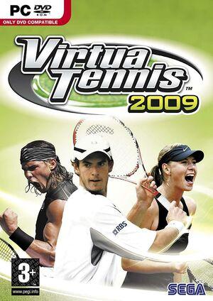 Virtua Tennis 2009 cover