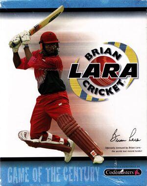 Brian Lara Cricket '99 cover