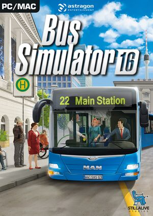 Bus Simulator 16 cover