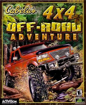 Cabela's 4x4 Off-Road Adventure cover